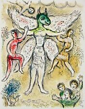 Eupeithes (The Odyessy), 1989 Limited Edition Lithograph, Marc Chagall