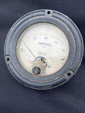 Vintage Phastron Panel Meter 0 80 Dc Amps Sealed 35 Steampunk Art