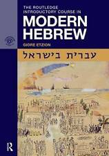 The Routledge Introductory Course in Modern Hebrew: Hebrew in Israel by Giore...