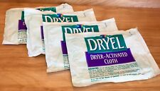 Original DRYEL Dryer Activated Cloths SET OF 4 New Cloths ~ Dry Clean at Home