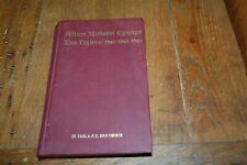 A.M.E. Zion Hymnal Official Hymnal of African Methodist Episcopal Church 1957