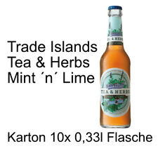 Trade Islands Tea & Herbs Mint 'n' Lime 10 Flaschen je 0,33l