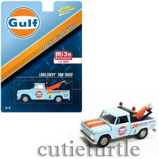 Johnny Lightning 1965 Chevrolet Tow Truck 1:64 Gulf Oil JLCP7038 Light Blue