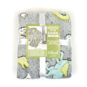 Habigail Fleece Blankets for Kids Ultra Cosy Soft Glow In The Dark