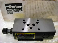 New Parker Manapak Hydraulic Pressure Reducing Valve, PRM3PA17KN32