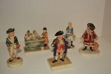 Sebastian Miniatures Lot of 5 Washington signed ,speak for it , Drummer, Beller