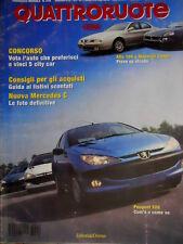 Quattroruote 516 1998 Prove Alfa 166 e Maserati Coupé. Nuova Mercedes C   [Q.60]