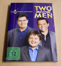 DVD Box Two and a Half Men - Season 4 lila - Mein cooler Onkel Charlie Neu OVP