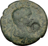SEVERUS ALEXANDER 222AD Antioch or Edessa Tyche Orontes Nike Roman Coin i38107