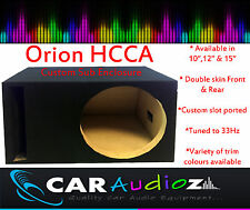"Orion HCCA 10"" 12"" 15"" Empty Subwoofer Speaker Box Enclosure Sub Bassbox"