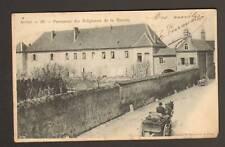 AUTUN (71) ATTELAGE au PENSIONNAT des RELIGIEUSES de la RETRAITE avant 1904