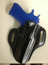 Galco Combat Master Holster for Glock 17, 22, 31 Right Hand Black CM224B