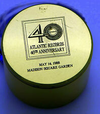 TIFFANY 40 ATLANTIC RECORDS 40 ANNIVERSARY TRAVEL CLOCK