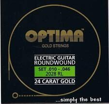 Optima/Maxima  24K Gold Electric Strings 10-46