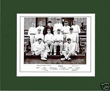 MOUNTED CRICKET TEAM PRINT - ESSEX - 1895