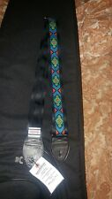 Souldier Guitar Straps Diamante Green Red  Turquoise Blue GS1121BK04BK new