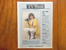 Aug-1986 N Y Daily News TV Week Mag(PAM  DAWBER/MY SISTER  SAM/REBECCA SCHAEFFER