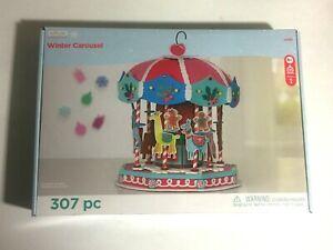 Creatology Christmas Winter Carousel Foam Craft Kit Kids Arts And Crafts