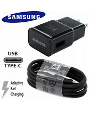 Genuine Samsung Galaxy S8,S9,S10,Note 8,9 Fast Adaptive Charger  & Type-C  Cable