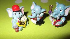 3 x  Ü-Ei  Überraschungsei Figur Funny Fanten  Elefanten Zirkus