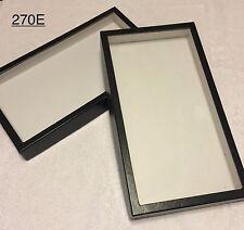 "#270E (8) Riker Display Case Shadow Box Frame Tray 14 1/2"" x 7 3/4"" x 1 1/2"""