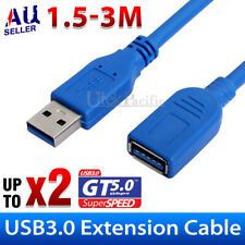 SuperSpeed USB 3.0 Male to Female Data Cable Extension Cord For Laptop PC Camera