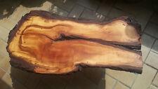 Couchtisch, Naturholz Baumscheibe, handmade, Unikat, Baumkante m. Rinde, geölt