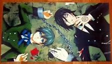 Poster A3 Kuroshitsuji Black Butler Sebastian Ciel Esposados