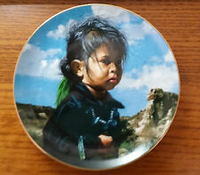 """Hamilton Collection """"Navajo Little One"""" Plate"""