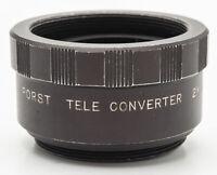 Porst Tele Converter 2x 2 x Auto - M 42 M42 Gewinde