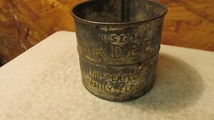 Antique Ardee Flour Tin Sifter