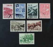CKStamps: Belgium Stamps Collection Scott#B538-B543 B545 Used