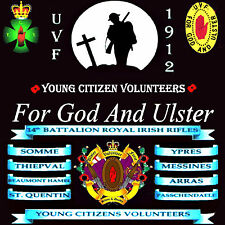 ****  YCV **** *** For God And Ulster*** LOYALIST/ORANGE/ULSTER CD