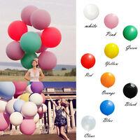 1PC Giant Big Balloon Candy Color Romantic Wedding Birthday Party Supplies Decor