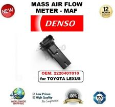 DENSO MAF MASS AIR FLOW METER SENSOR OEM: 222040T010 for TOYOTA LEXUS OE QUALITY