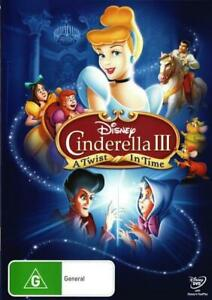 Cinderella 3 A Twist in Time DVD | Region 4