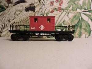 Lionel Train ERIE Lackawanna Transfer Caboose 6-6491  NO BOX