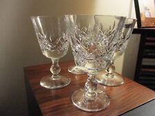 Webb Corbett Crystal - GEORGIAN Cut - Port Sherry Glass / Glasses - 4.75