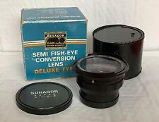 Sunagor Semi Fisheye Conversion Lens, Series VII Fit