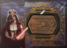 Star Wars 2015 MASTERWORK Weapons Medallion Card DARTH VADER Lightsaber 80/129