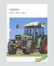 Fendt Farmer 250 S 260 S 280 S   Schlepper Original 1999