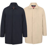 Men Tokyo Laundry Hollows Trench Coat Collared Jacket Casual Lined Mac Size S-XL