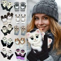 Knitted Soft Thermal Insulated Extra Warm Winter Mittens Gloves Womens Ladies UK