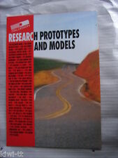 """Ital Design """"Research prototypes and Models"""" folleto/brochure/depliant 1997"""
