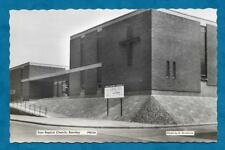 C1960'S RP PC SION BAPTIST CHURCH, BURNLEY, LANCASHIRE