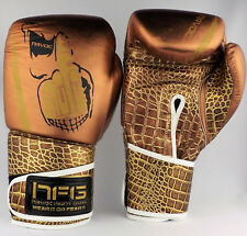 Ltd Edtn 16oz MOFO Leather Premium Boxing Sparring Gloves Havoc UK Boxing Gloves