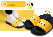 Official Kpop BTS BT21 Face Silicone Slippers 100% Authentic By Line Friends