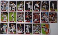 2012 Topps Series 1 & 2 Houston Astros Team Set of 20 Baseball Cards