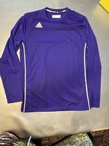 Adidas Climacool mens large purple base layering Long Sleeve Top