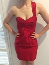 Stellini red cocktail dress- size 6